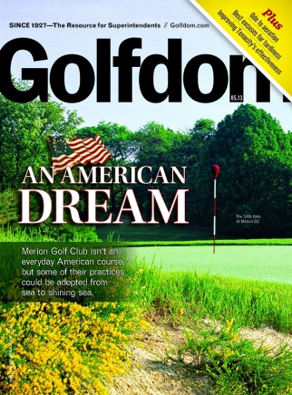 Golfdom Merion Golf Cover